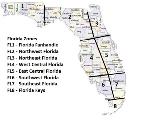 FL Zones and Counties