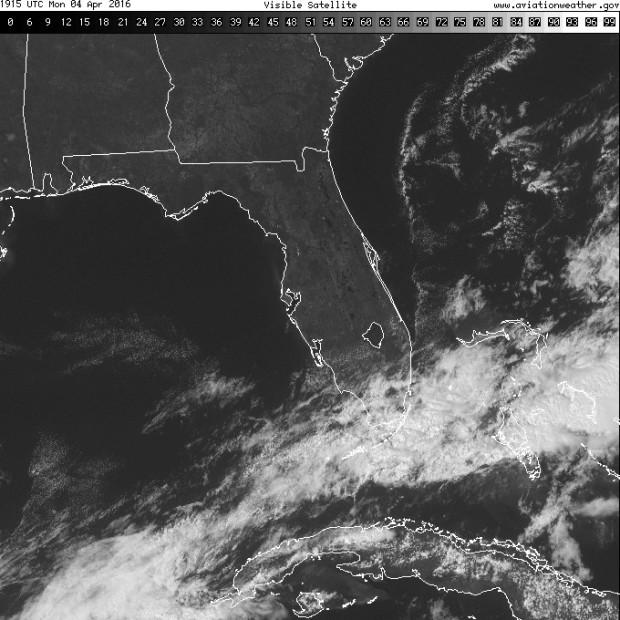 FL VIS SAT Cu line along Gulf Stream